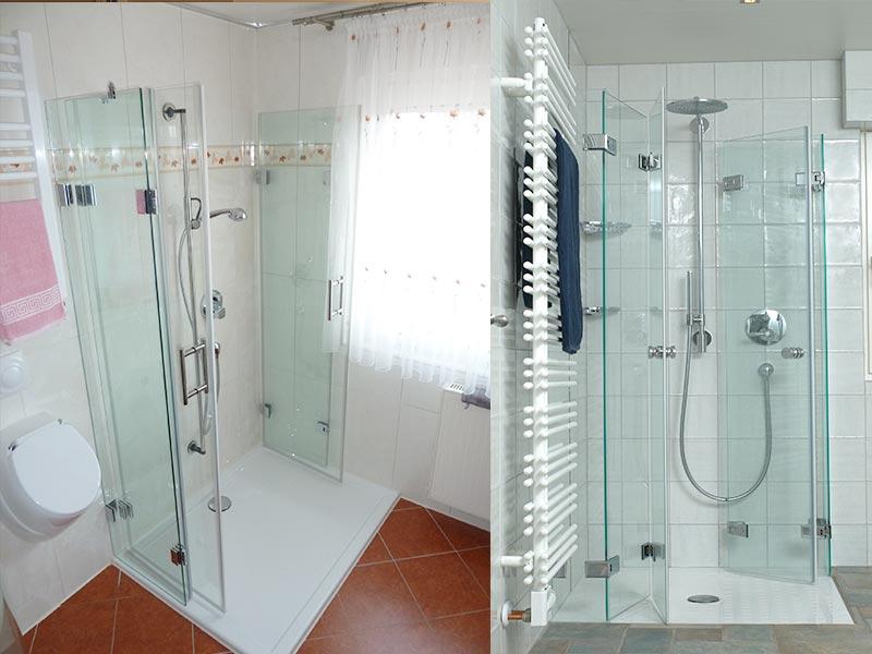 Ganzglas-Duschen 1
