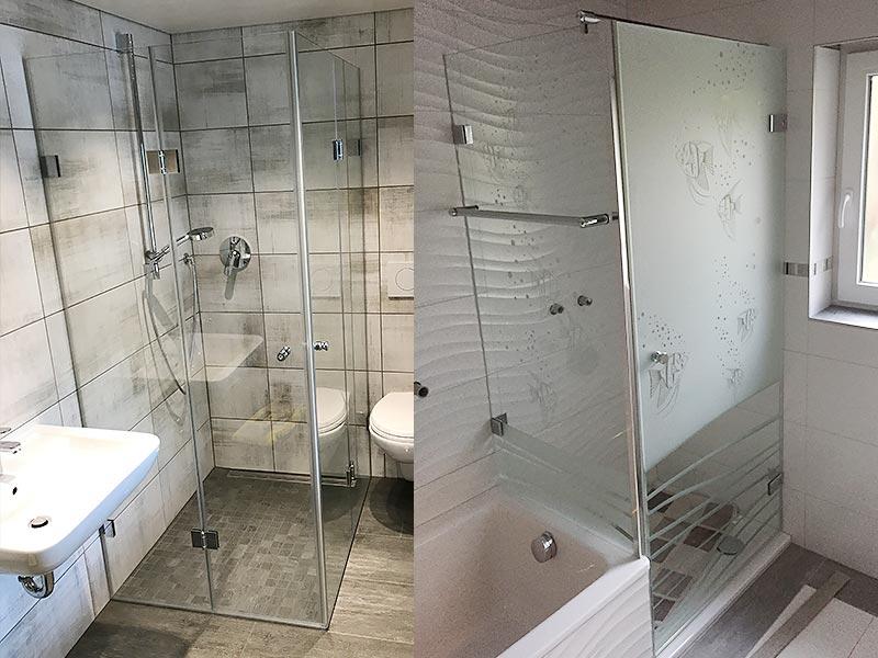 Ganzglas-Duschen 3