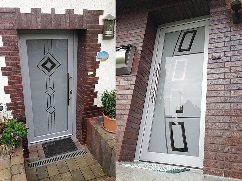 Glastüren- und Fenster 7