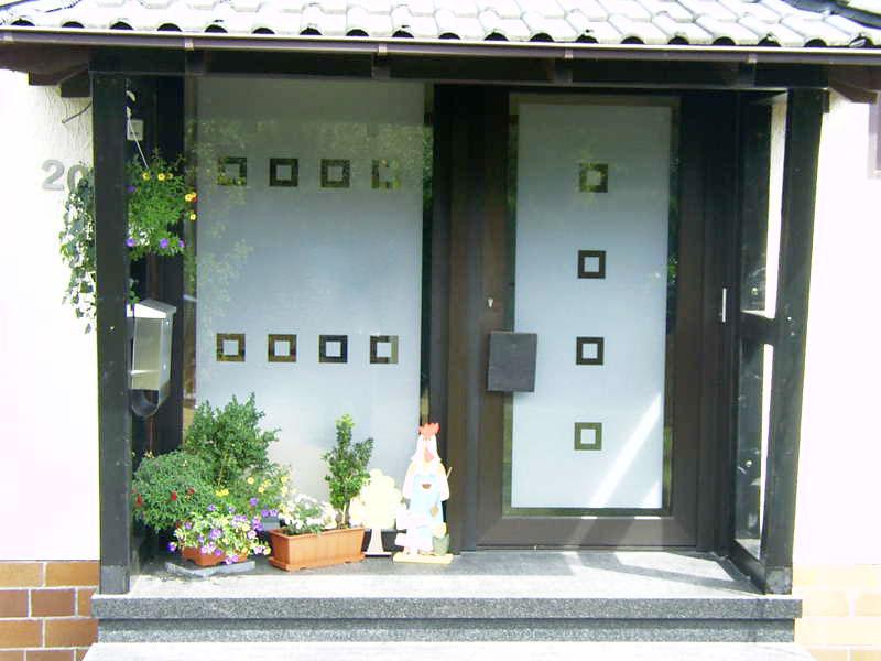 Glastüren- und Fenster 8
