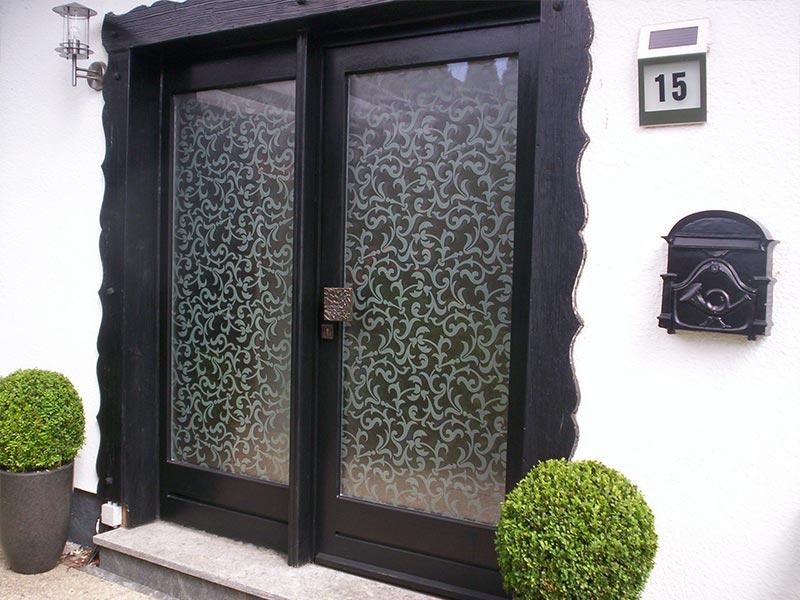 Glastüren- und Fenster 9