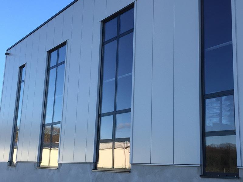 Industrie- und Hallenverglasungen 2